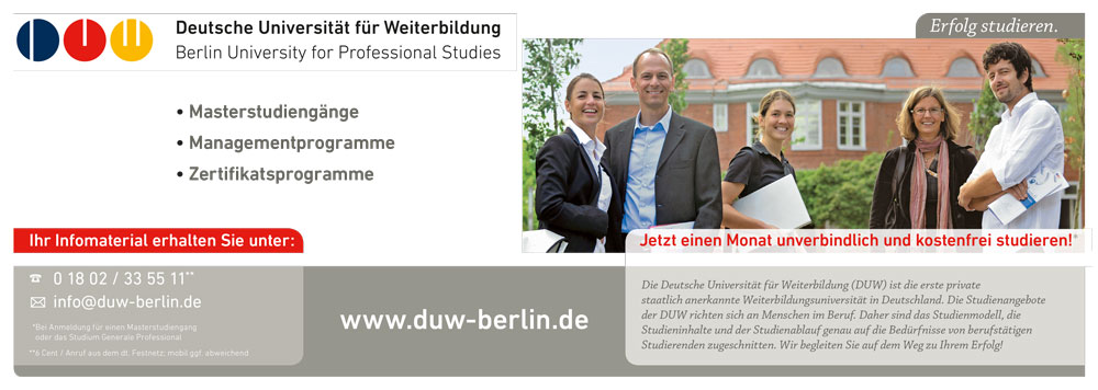 DUW Image Anzeige ZEIT