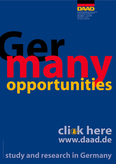 Plakat GerMany Opportinities