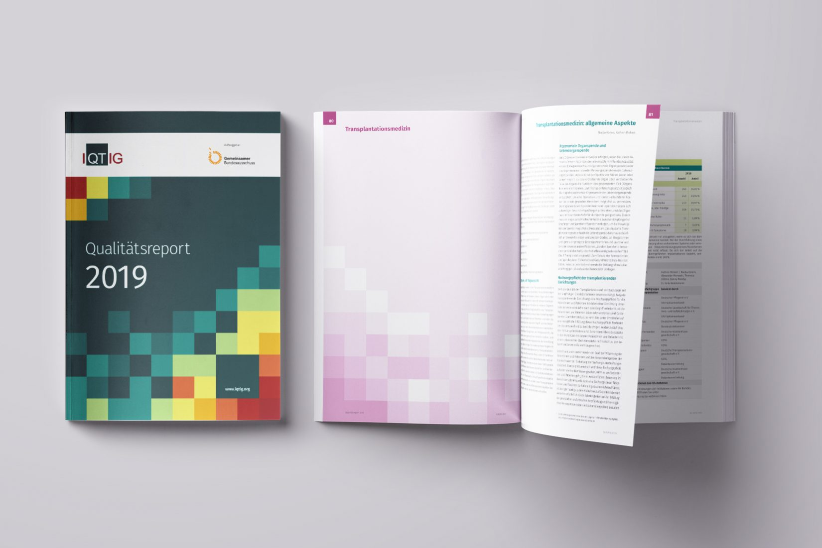 IQTIG - Qualitätsreport 2019